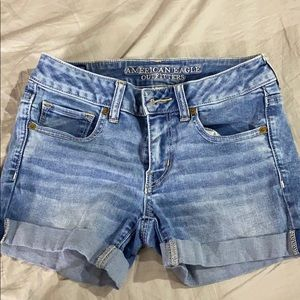 Jean shorts American eagle